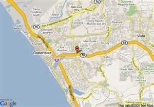where is oceanside california on a map oceanside ca map