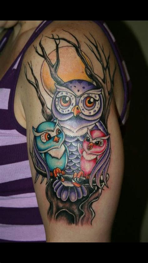 mom tattoos baby and baby owl ideas baby