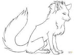 Fox Coloring Pages by Stylish Fox Coloring Page Free Printable Coloring Pages