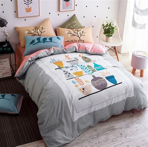Fox Comforter by Get Cheap Fox Bedding Aliexpress Alibaba
