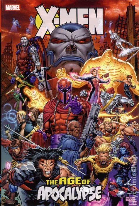 x classic omnibus books age of apocalypse omnibus hc 2012 marvel 1st