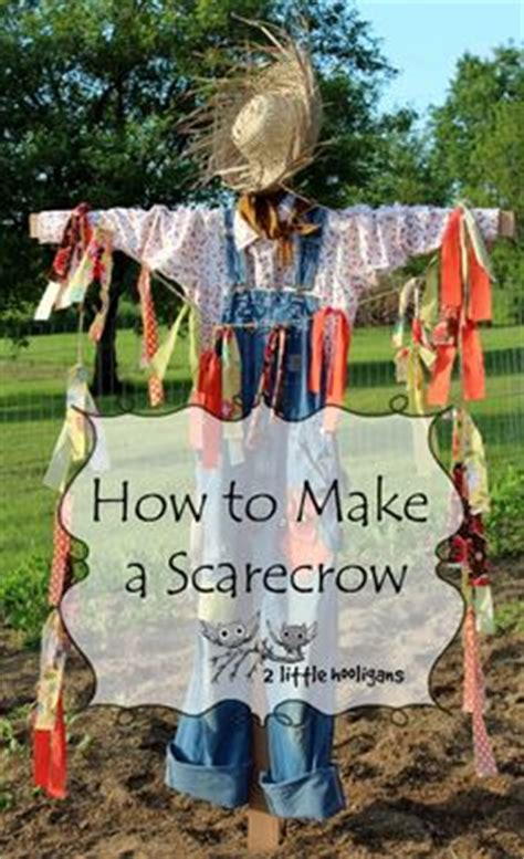 1000 ideas about scarecrow garden on pinterest