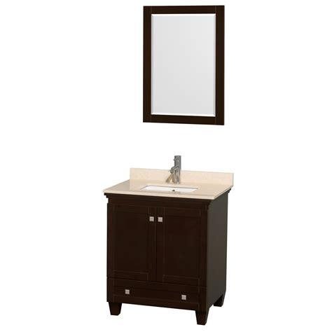 24 30 inch bathroom vanities wyndham collection wcv800030sesivunsm24 acclaim 30 inch