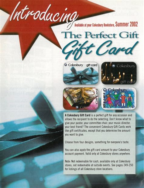 cokesbury gift card ad - Gift Card Ad