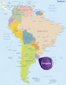 uruguay map blank political uruguay map with cities