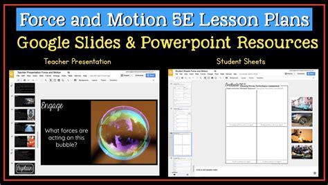 google slides templates for teachers 5e unit plans for third grade