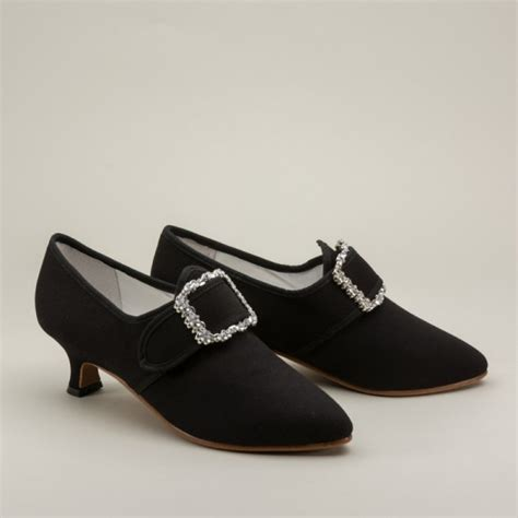 18th century shoes american duchess quot dunmore quot 18th century shoes black