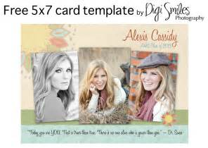 Free Photoshop Photo Templates by Free Card Template For Photoshop Drop In Your Photos And