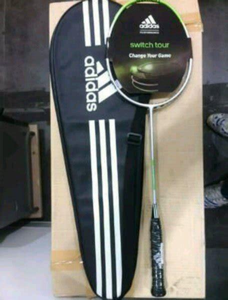 Raket Badmintonbulutangkis Adidas Adi Power Original jual raket bulutangkis raket badminton raket adidas original switch tour di lapak warung