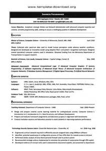 it resume template download selection good based on trends