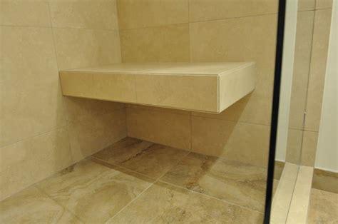 floating shower bench bathroom decoration pinterest