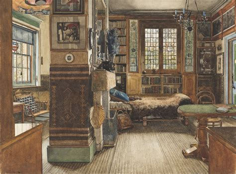 cooper library study room domestic interior paintings show how the 1 lived in the 19th century