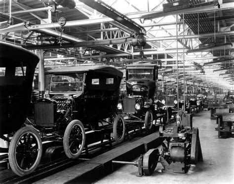Ford Manufacturing Ford Model T Assembly Line Silodrome