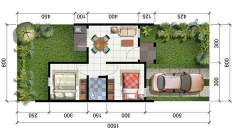 contoh denah rumah model 36 info bisnis properti foto gambar wallpaper