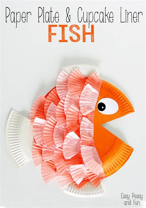 How To Make A Fish Out Of A Paper Plate - 25 best ideas about paper plate crafts on
