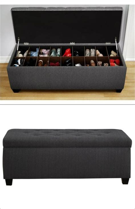 shoe storage seating bench 1000 ideas about storage benches on storage