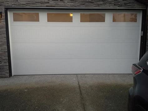 8 X 16 Garage Door 2014 Garage Door 16 X 8 Outside Comox Valley Cbell River