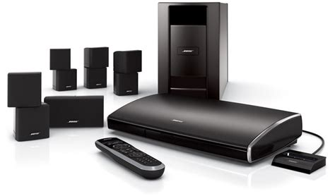 bose lifestyle v25 home theater system with sl 2 wireless