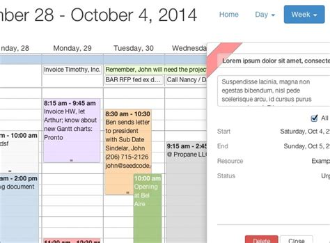 Web Based Calendar Seedcode S Next A Web Based Calendar Filemakerprogurus