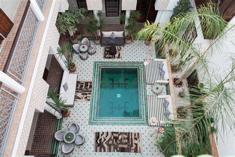 Courtyard Homes Floor Plans by The Riad Riad Yasmine
