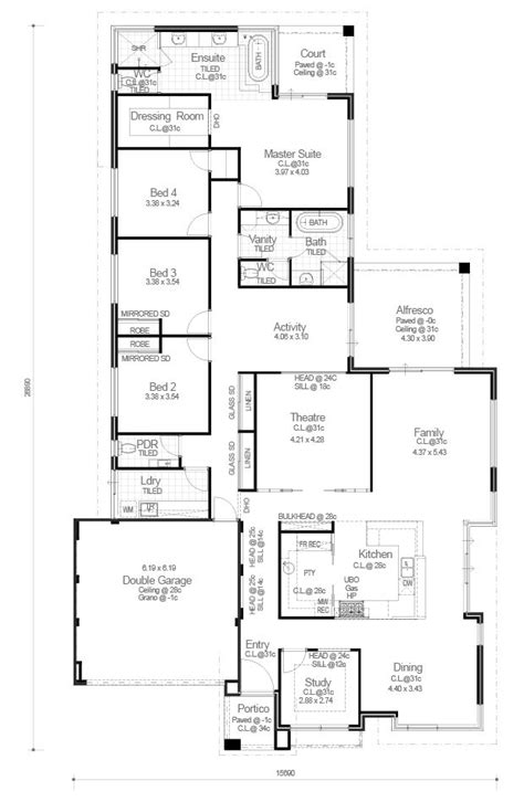 red ink homes floor plans red ink homes ocean series the victoria floorplan