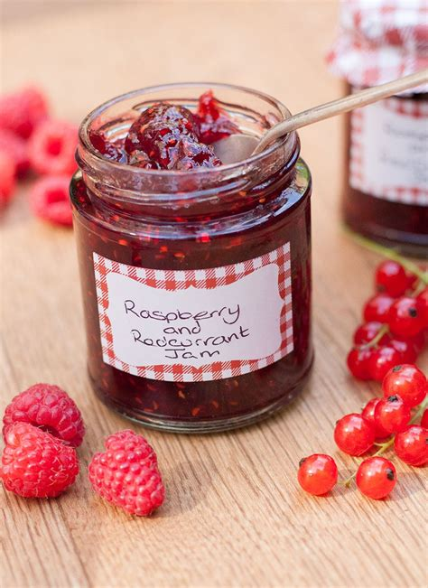 Jamz Jamz raspberry and redcurrant jam recipes made easy