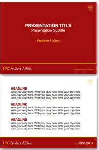 Powerpoint Templates For Students by Powerpoint Presentations Usc Student Affairs