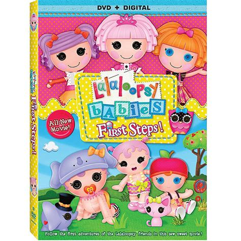 Lalaloopsy Giveaway - lalaloopsy quot first steps quot dvd doll giveaway ends 10 20 14 she scribes