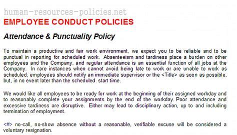 Sample Human Resources Policies, Sample Procedures for