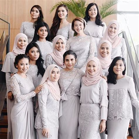 Baju Bridesmaid Songket 85 best images about kebaya on kebaya lace top dress and lace