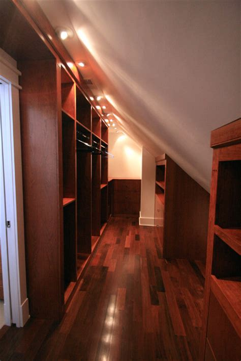 Attic Closet Design by Potomac Bathroom Walk In Closet Traditional Closet Other Metro By Leveille Home