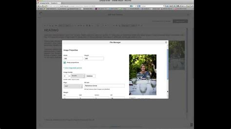 Inserting Images Into Mailchimp Template Youtube Mailchimp Template Size