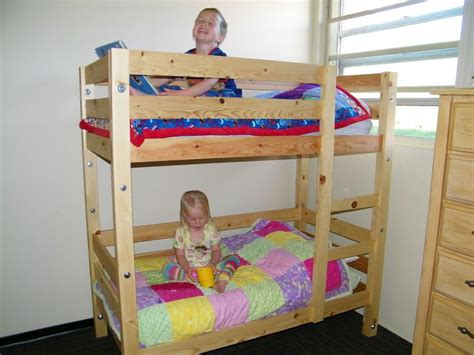 do it yourself bunk beds toddler bunk beds do it yourself home projects from ana