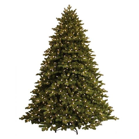 ge 7 5 ft just cut spruce ez light artificial tree with 800 color choice led