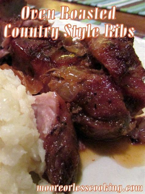 roasted country style pork ribs cooker herbed balsamic pork roast recipe pork