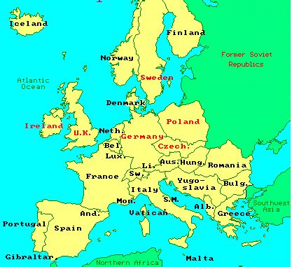 europe map now europe map now travel maps and major tourist attractions
