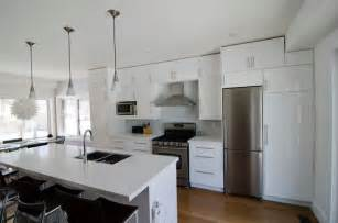 ikea abstrakt white kitchen modern kitchen toronto