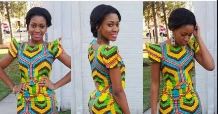 simple ankara styles short gown debonke house of fashion simple and lovely ankara short gown for ladies debonke