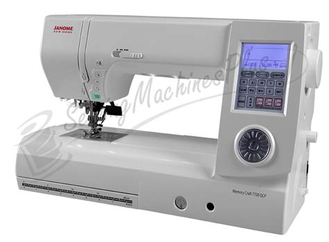 Janome Quilting Machine by Janome New Home Memory Craft 7700qcp Sewing Quilting