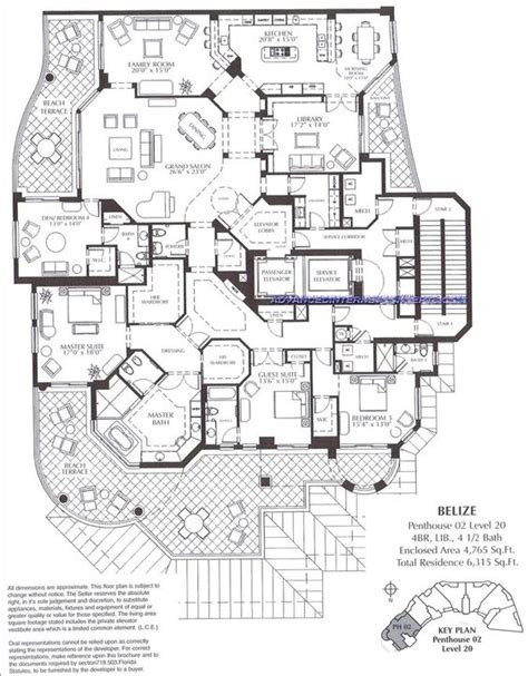 luxury condominium floor plans the belize at cape marco luxury condominium floor plans