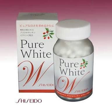 Vitamin Rambut Shiseido shiseido white tablet pemutih kulit jepang kosmetik