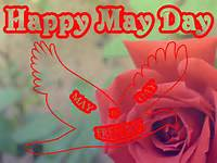 The Greeting Card For You Happy May Day