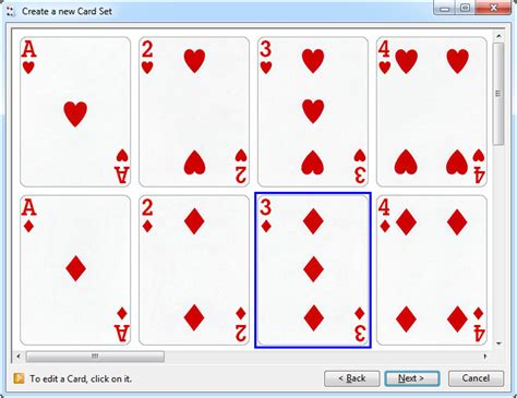 card sets solsuite solitaire graphics pack create new card sets wizard