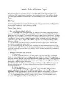 Process Paper Essay by Best Photos Of Nhd Process Paper National History Day Process Paper Exles National History