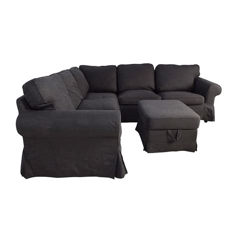 ikea recliners 39 off ikea ikea ektorp gray corner sectional with
