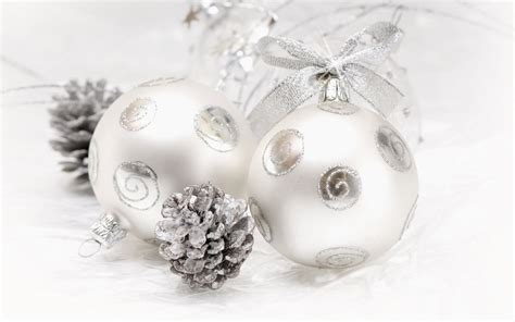 white christmas ornaments wallpaper 38985