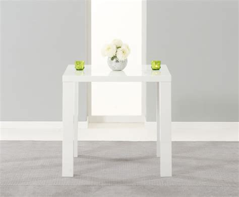 white high dining table earlham small white high gloss dining table frances hunt