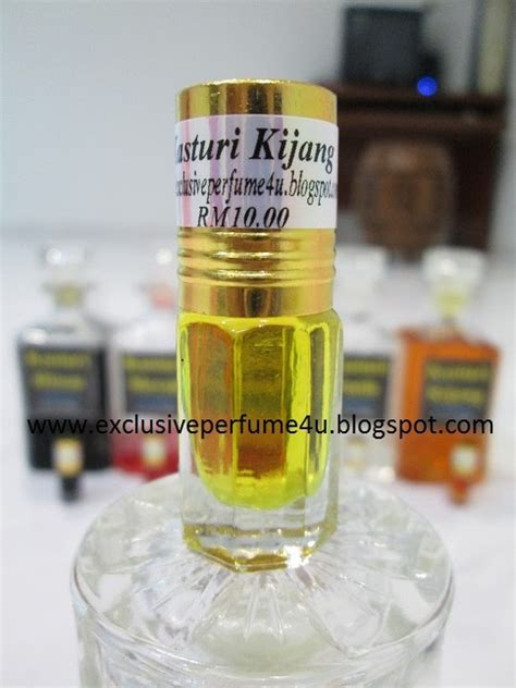 Minyak Wangi Kasturi Kijang 3 pati minyak wangi