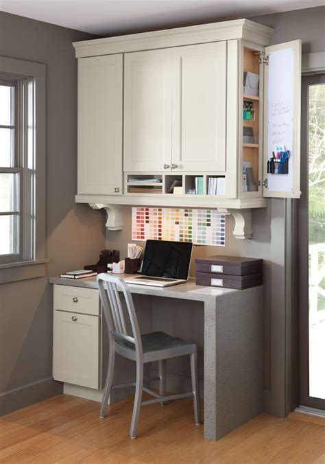 Consider Adding A Desk Workspace To Your Kitchen Like Kitchen Desk Organization