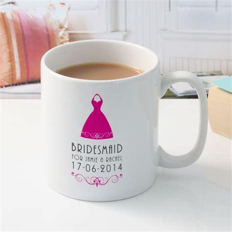 Special Produk Mug Blirik 9cm personalised bridesmaid mug the gift experience